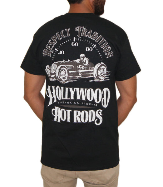 Hollywood Hot Rods - Speed-O-Meter Tee