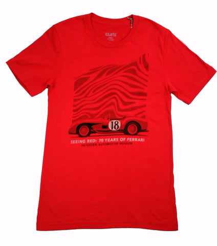 Petersen x The Curb Shop - Seeing Red Tee
