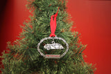 Petersen Holiday Ornament - Pewter Round Door