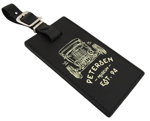 Petersen Leather Luggage Tag