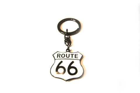 Route 66 Shield Keychain