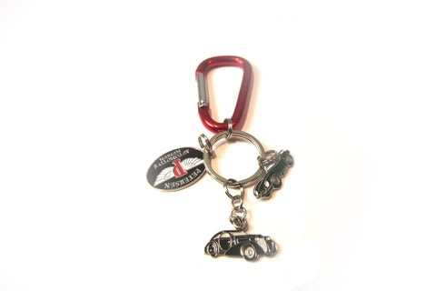 Petersen Trio Keychain