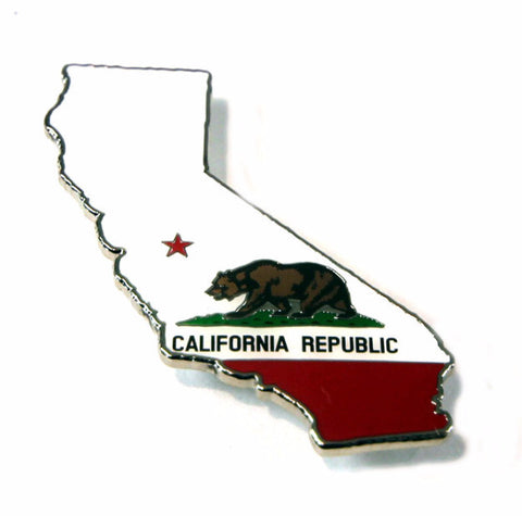 Republic State Outline magnet