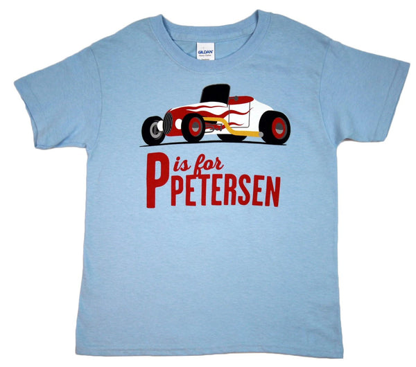 Petersen Kids Shirt - P is for Petersen