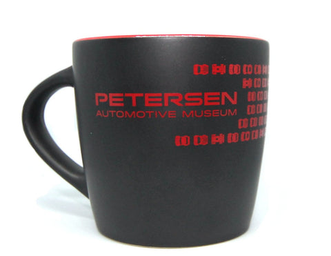 Petersen Ceramic Mug - Matte Two Tone Petersen Script