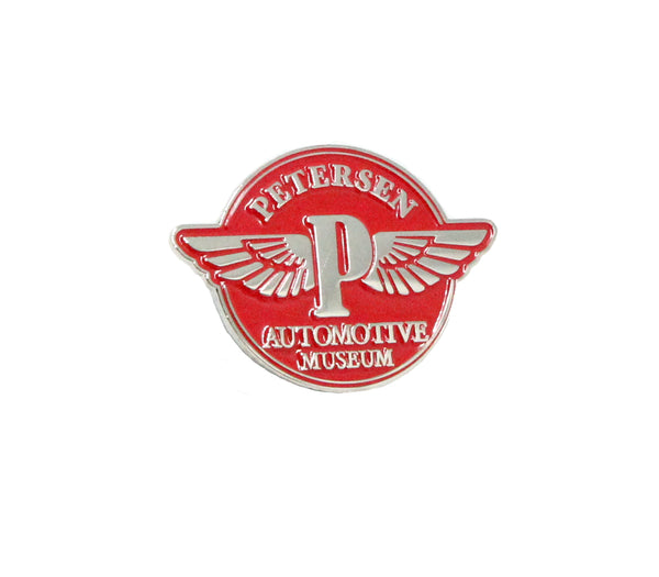 Petersen Museum Pin - Vintage Flying P