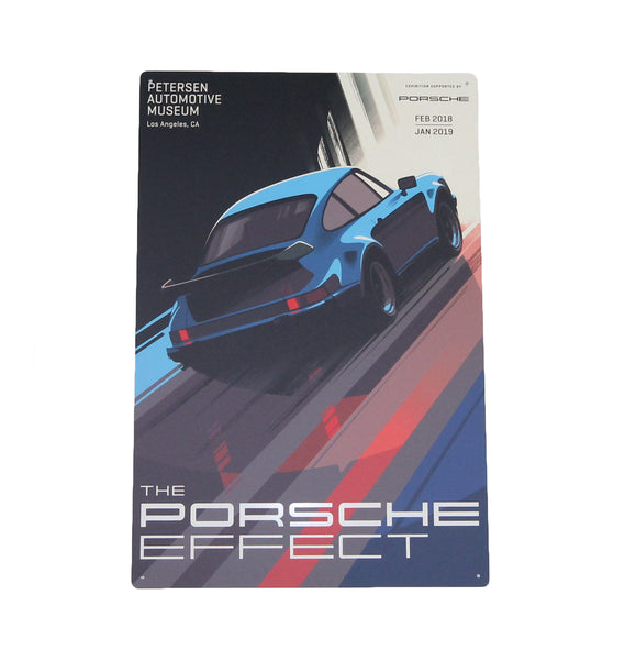 Petersen Metal Sign - Porsche Effect 911