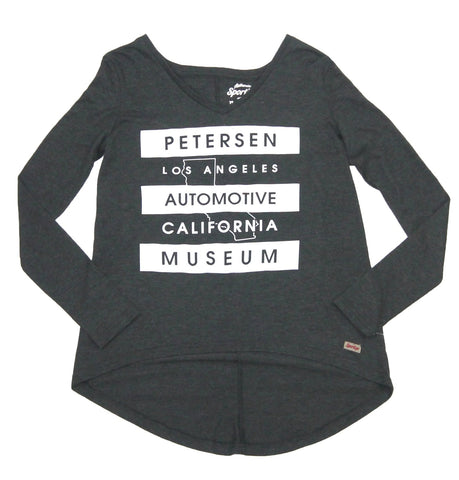Petersen Women's Tee - Cali Outline LS