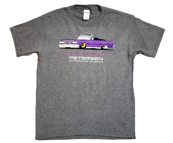 Petersen Youth Shirt - L is for Lowrider