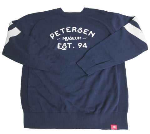 Petersen Automotive Museum Est. 94 Varsity Crew Neck