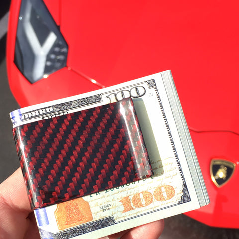 Carbon Fiber Money Clip - Color