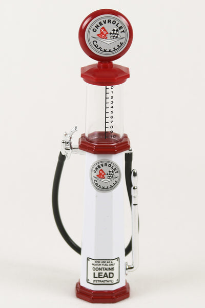 Corvette Cylinder Gas Pump 1:18 Scale