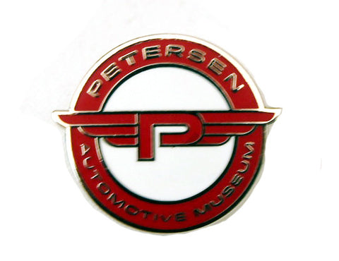 "Petersen Museum Pin - Modern Flying ""P"""