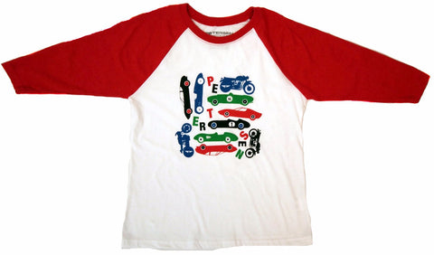 Petersen Kids Baseball Tee - Collection