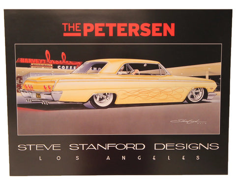 Petersen Poster - Limited Edition Steve Stanford Design