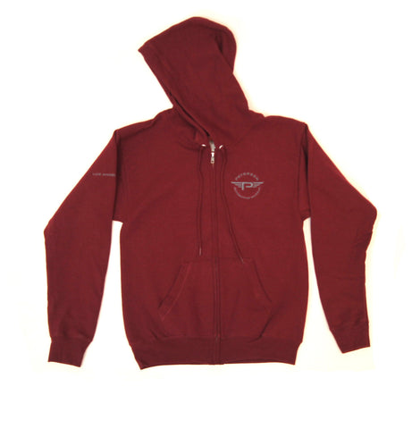 Petersen Zip-Up Sweater - Flying P Logo