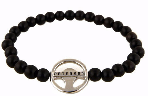 Petersen Wood Bead Bracelet