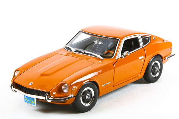 1970 Datsun 240Z Orange 1:18 Scale