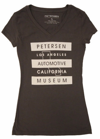 Petersen Women's Tee - Cali Outline