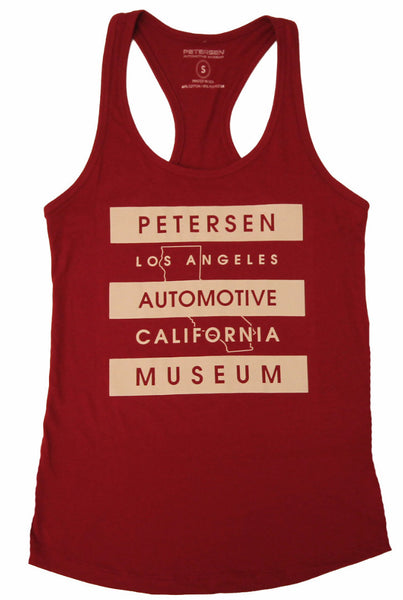 Petersen Women's Tank Top - Cali Outline