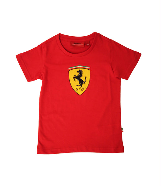 Ferrari Shield Kids Tee