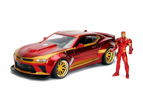 "Iron Man & 2016 Chevrolet Camaro ""Marvel"" series 1:24 scale"