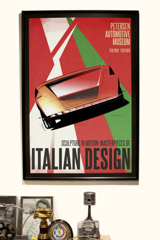Petersen Poster - Italian Design Exhibit