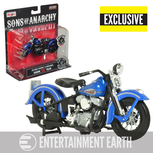 Sons of Anarchy Final Ride 1946 Harley-Davidson FL Knucklehead 1:18 Scale Motorcycle - Exclusive