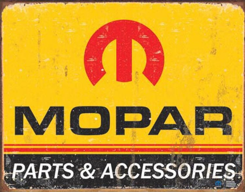 Mopar Logo 1964 Metal Sign