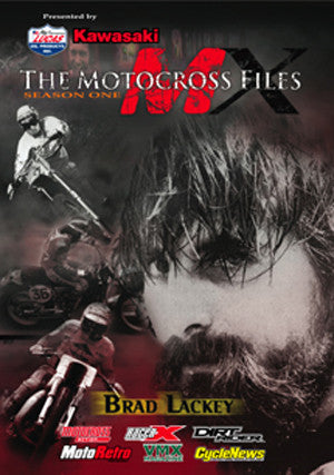 MX Files Brad Lackey DVD