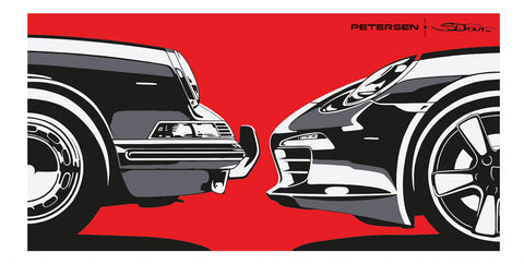 Face to Face - Petersen x S. Dufour Art Print