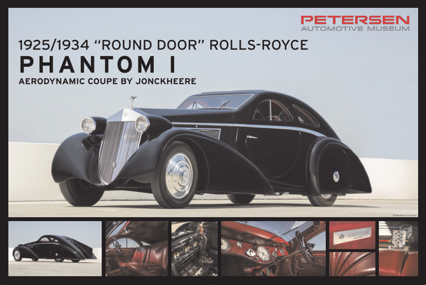 Petersen Poster - Round Door Rolls Royce
