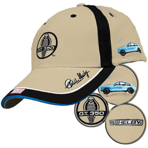 Shelby GT350 Cobra Embroidered Cap