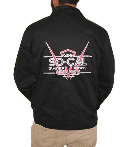 SO-CAL Speed Shop Service Logo Lightweight Jacket