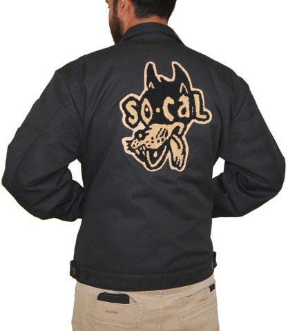 SO-CAL Speed Shop Wolf Eisenhower Mechanic's Jacket