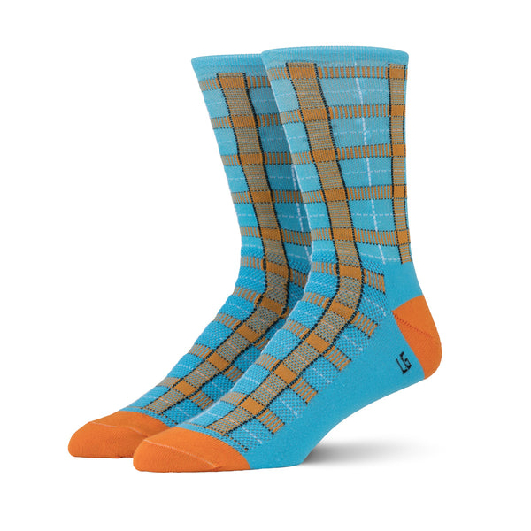 Striipe Socks- Spirit of LeMans Tartan (SOLM)