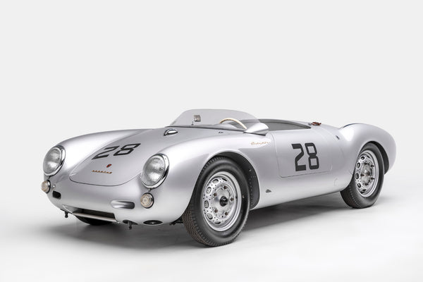 Ted 7 Metal Prints - Porsche 550 Spyder