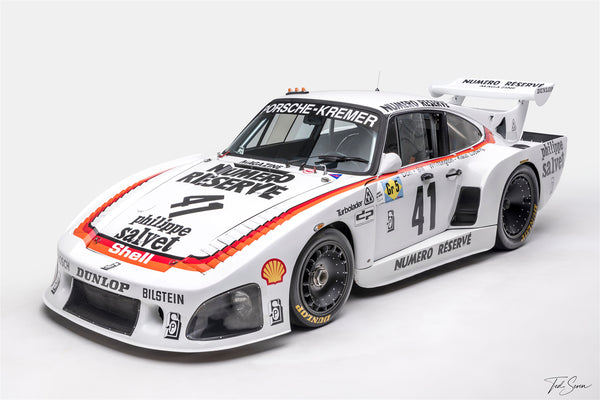 Ted 7 Metal Prints - Porsche 935 K3