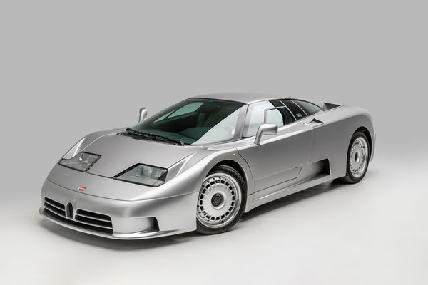 Ted 7 Metal Prints - Bugatti EB110