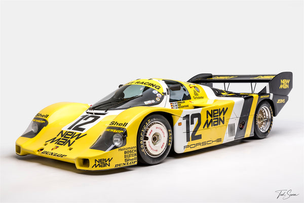 Ted 7 Metal Prints - Porsche 956 #105