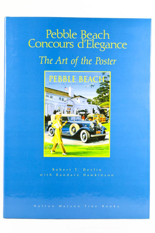 Pebble Beach Concours Delegance The Art Of The Poster