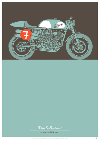 Deus Ex Machina x Petersen Print - The American 1200