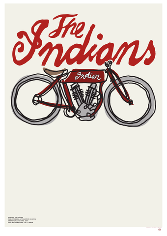 Deus Ex Machina x Petersen Print - The Indians