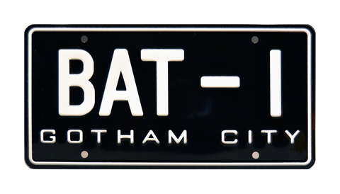 Batman USA BAT-1 Metal Stamped Vanity License Plate