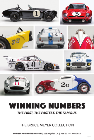Petersen Poster - Winning Numbers Cars