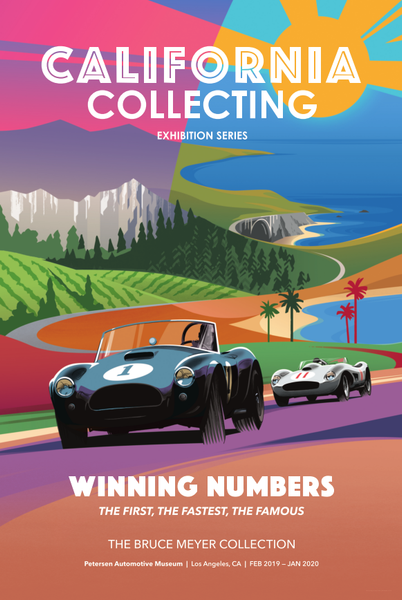 Petersen Poster - Winning Numbers Art