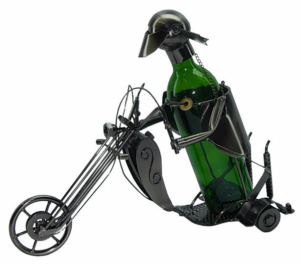 """Chopper"" Wine Bottle Holder"