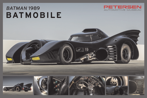 Petersen Poster - 1989 Batmobile