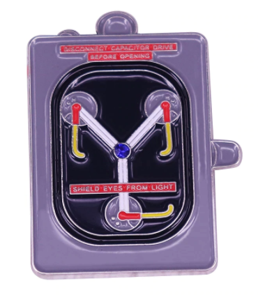 Back To The Future Flux Capacitor Pin