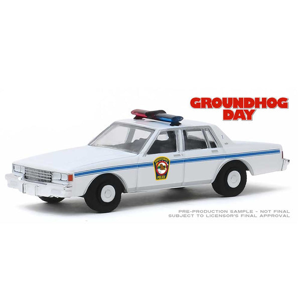 Greenlight Collectibles - 1980 Chevy Caprice - Groundhog Day 1:64 Scale